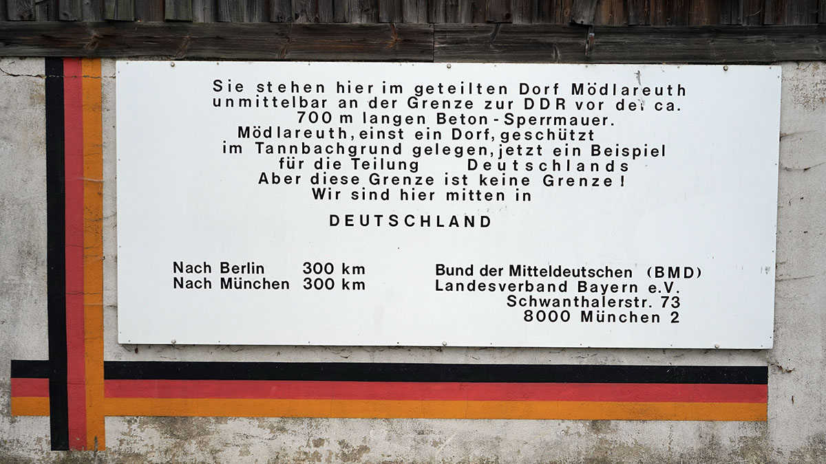 Deutsch-Deutsches Museum Mödlareuth